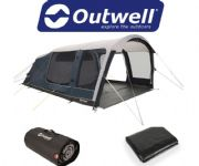 Outwell Roseville 6SA Tent 2020 (Inc: Carpet + Footprint)